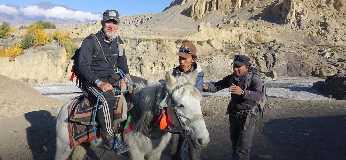 Horse Riding Treks  in Nepal